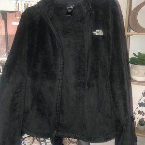 Women's North Face Black Osito Fleece Jacket